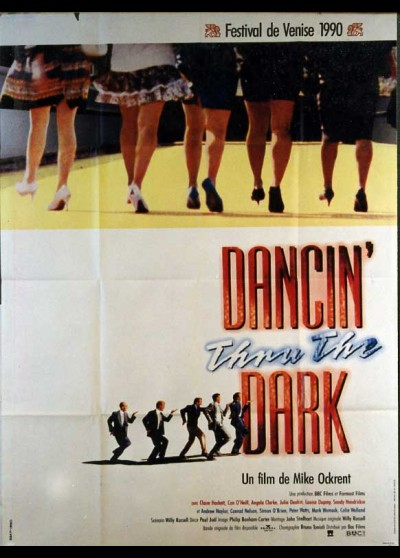 affiche du film DANCIN THRU THE DARK