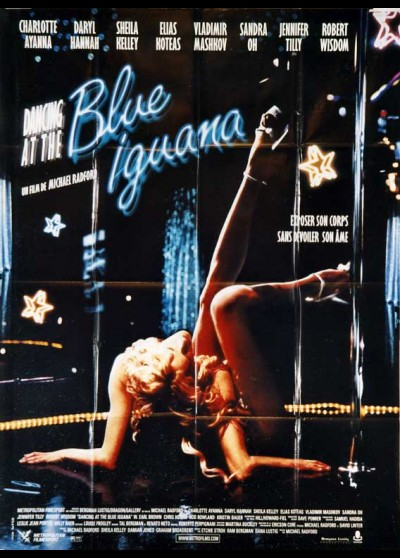 affiche du film DANCING AT THE BLUE IGUANA