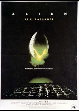 affiche du film ALIEN LE HUITIEME PASSAGER
