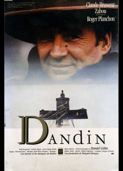 affiche du film DANDIN