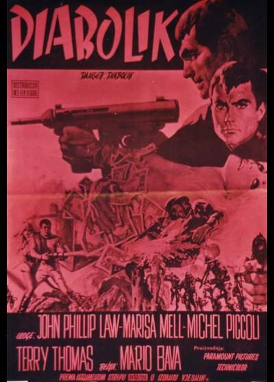 affiche du film DANGER DIABOLIK