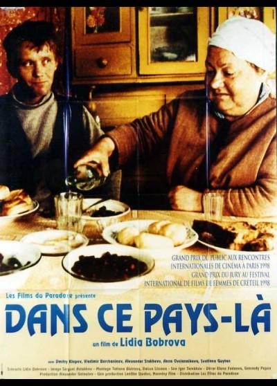 affiche du film DANS CE PAYS LA