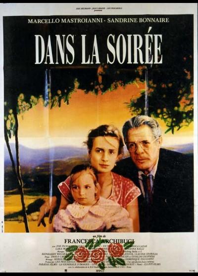 affiche du film DANS LA SOIREE