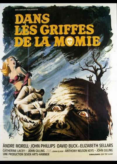affiche du film DANS LES GRIFFES DE LA MOMIE