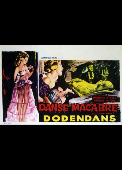 affiche du film DANSE MACABRE