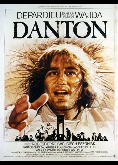 DANTON movie poster
