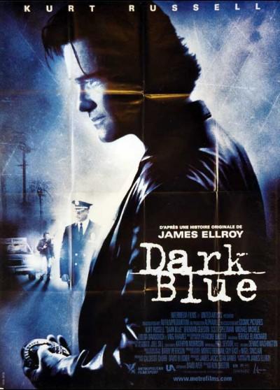 DARK BLUE movie poster