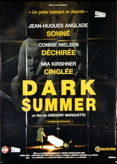 affiche du film DARK SUMMER