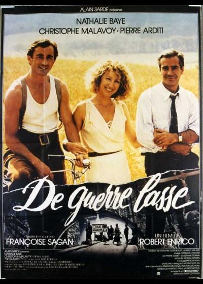 affiche du film DE GUERRE LASSE
