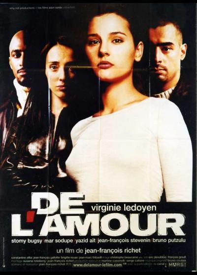affiche du film DE L'AMOUR