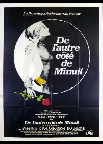 affiche du film DE L'AUTRE COTE DE MINUIT