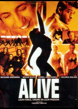 ALIVE movie poster