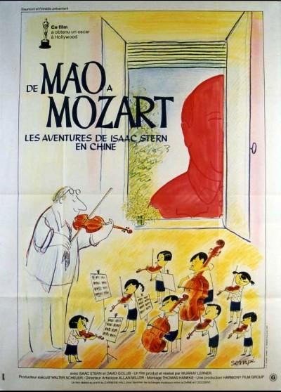 affiche du film DE MAO A MOZART