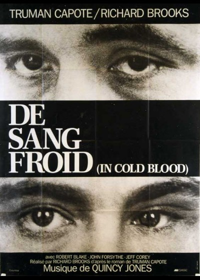 affiche du film DE SANG FROID