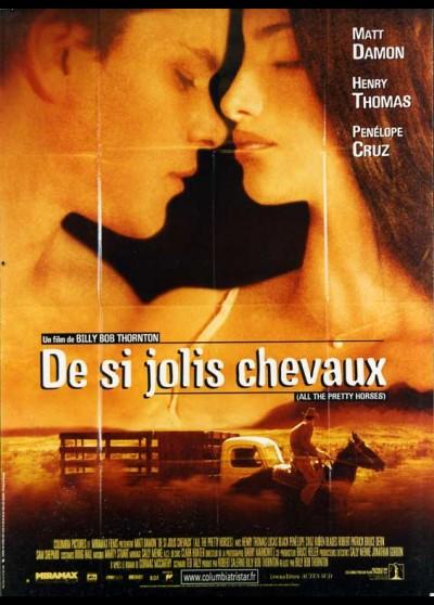 affiche du film DE SI JOLIS CHEVAUX