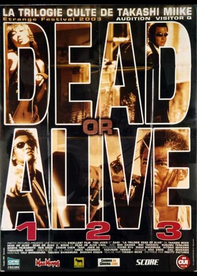affiche du film DEAD OR ALIVE