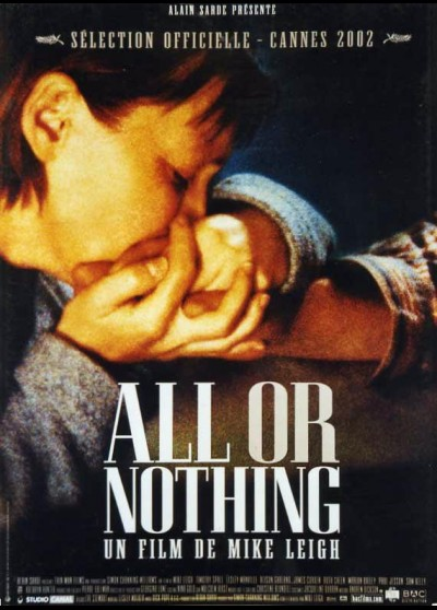 ALL OR NOTHING movie poster