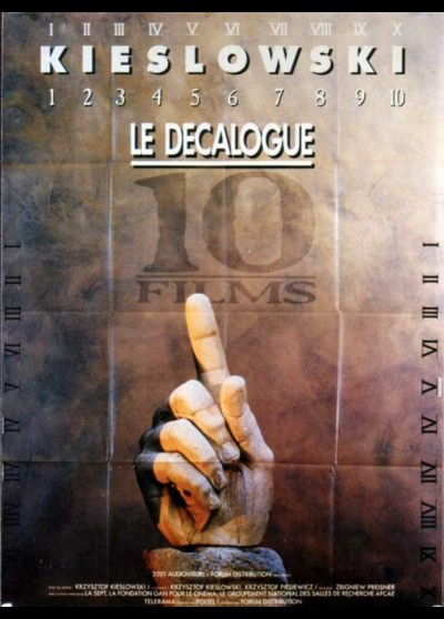 affiche du film DECALOGUE (LE)