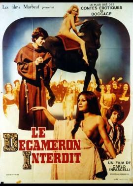 DECAMERON PROIBITO LE ALTRE NOVELLE DEL BOCCACCIO (IL) movie poster