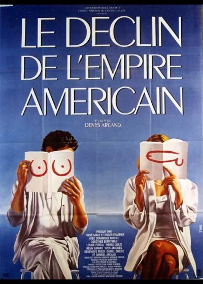 affiche du film DECLIN DE L'EMPIRE AMERICAIN (LE)