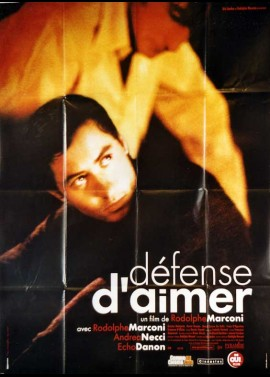 DEFENSE D'AIMER movie poster