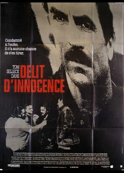 A INNOCENT MAN movie poster