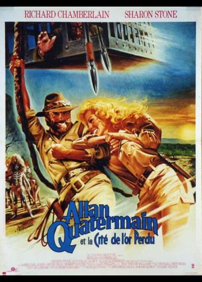 affiche du film ALLAN QUATERMAIN ET LA CITE DE L'OR PERDU