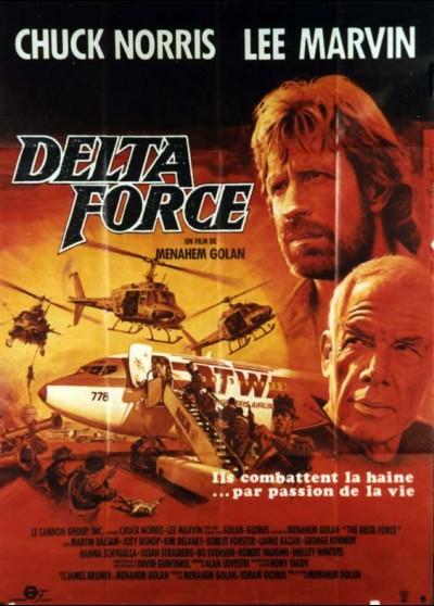 affiche du film DELTA FORCE