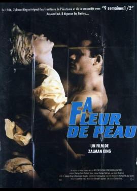 affiche du film A FLEUR DE PEAU