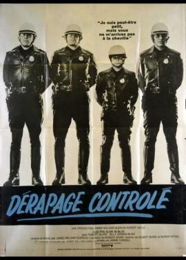 affiche du film DERAPAGE CONTROLE