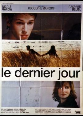 DERNIER JOUR (LE) movie poster