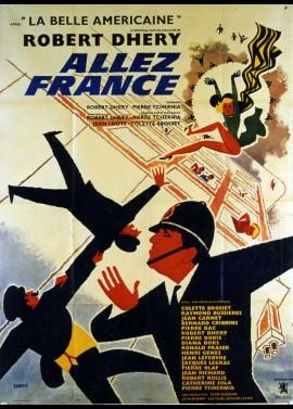 affiche du film ALLEZ FRANCE