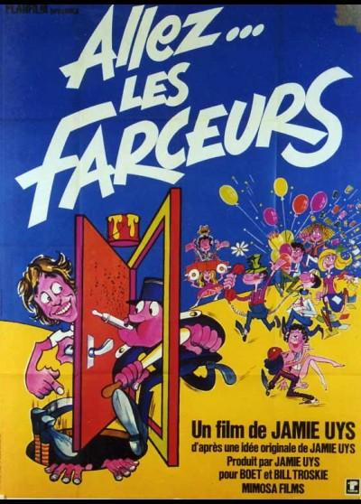 affiche du film ANGES SE FENDENT LA GUEULE (LES)