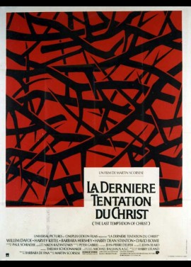 LAST TEMPTATION OF CHRIST (THE) movie poster