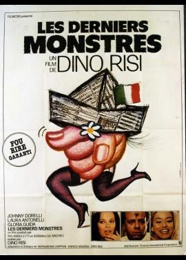 affiche du film DERNIERS MONSTRES (LES)