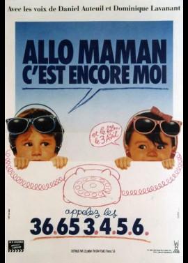 affiche du film ALLO MAMAN C'EST ENCORE MOI
