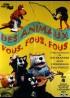 affiche du film DES ANIMAUX FOUS FOUS FOUS
