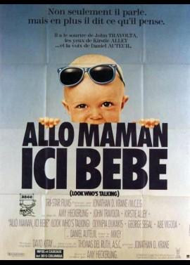 affiche du film ALLO MAMAN ICI BEBE