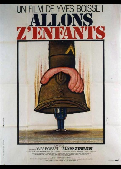 affiche du film ALLONS Z'ENFANTS