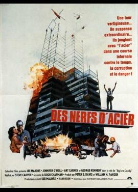 affiche du film DES NERFS D'ACIER