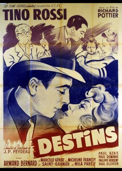 affiche du film DESTINS