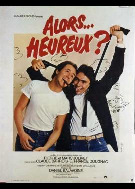 affiche du film ALORS HEUREUX