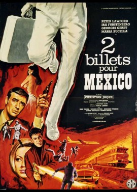 affiche du film DEUX BILLETS POUR MEXICO