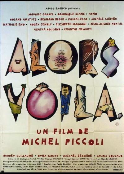 affiche du film ALORS VOILA