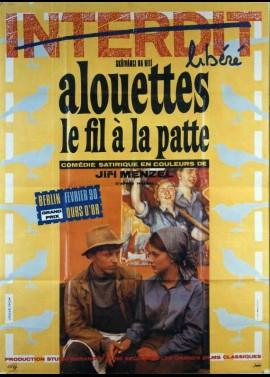 affiche du film ALOUETTES LE FIL A LA PATTE
