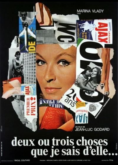DEUX OU TROIS CHOSES QUE JE SAIS D'ELLE movie poster