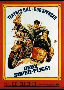 affiche du film DEUX SUPER FLICS