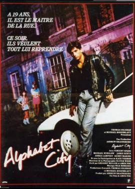 affiche du film ALPHABET CITY