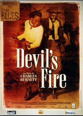BLUES (THE) / WARMING BY THE DEVIL'S FIRE movie poster