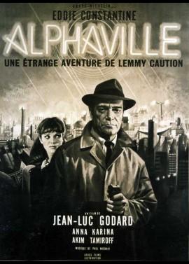 affiche du film ALPHAVILLE